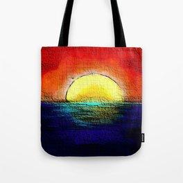 Sunburnt Sky Tote Bag