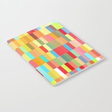 colorful rectangle grid Notebook