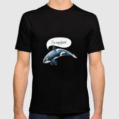 orcinus orca Mens Fitted Tee Black MEDIUM