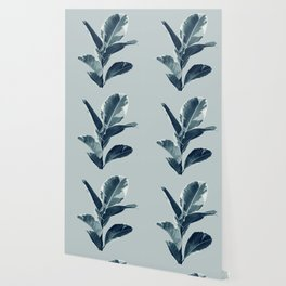 Ficus Elastica Finesse #1 #tropical #foliage #decor #art #society6 Wallpaper