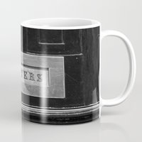 letters Mugs featuring Letters by Shy Photog