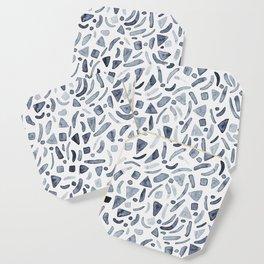 Grey Watercolour Terrazzo Coaster