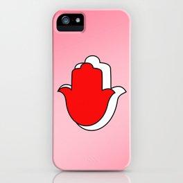 Symbol of Ahimsa iPhone Case
