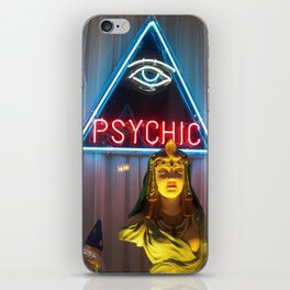 PSYCHIC iPhone Skin