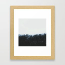 Haunting love Framed Art Print