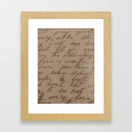 1855 Framed Art Print