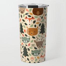 Woodland Creatures Travel Mug