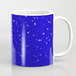 Effet neige bleu roi Coffee Mug