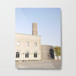 Industrial House Metal Print