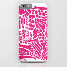 Better Surfed Out than Stressed Out Slim Case iPhone 6