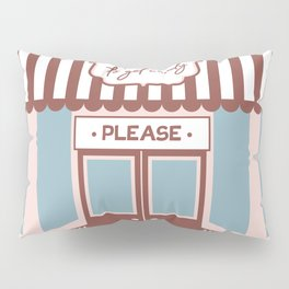 Take me to the Candy Shop - Cute Storefront Design Pillow Sham