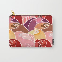 Beaky Birds Carry-All Pouch