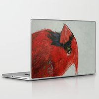 cardinal Laptop & iPad Skins featuring Cardinal by Michael Creese