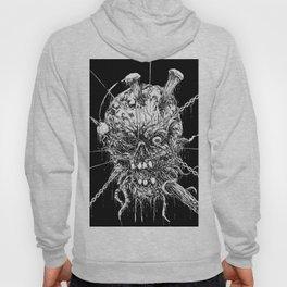 Hellraiser Horror Skull Hoody