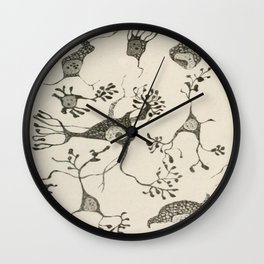 Neuron Cells Wall Clock
