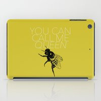 lorde iPad Cases featuring Queen Bee by kirstenariel