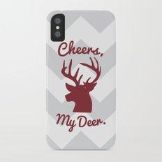 Cheers, My Deer. Slim Case iPhone X
