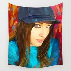 Colourful Vibes Wall Tapestry
