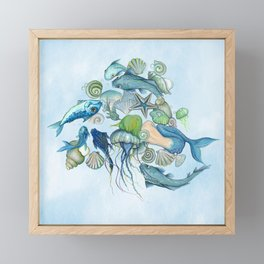 Atlantis Underwater World Framed Mini Art Print