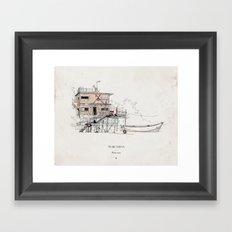 Tigre Delta: Plant Trees Framed Art Print