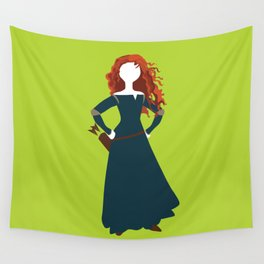 Merida from the Brave Wall Tapestry