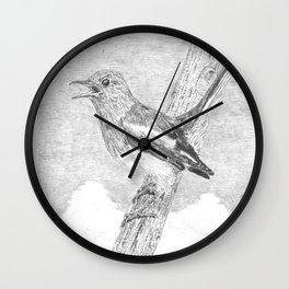Tweeting a Message Wall Clock