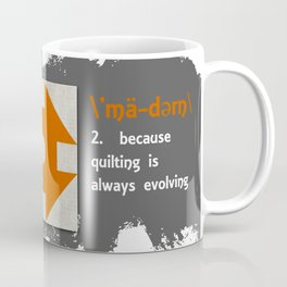 Modern Dash Barn Block Alphabet Coffee Mug
