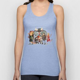 Dungeons and Dragons Unisex Tank Top