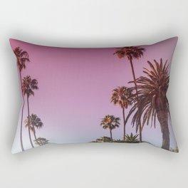 Palm Tree Romance Rectangular Pillow