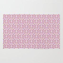 Rose Truchet Tilling Pattern Rug