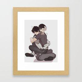SHIRO!! Framed Art Print