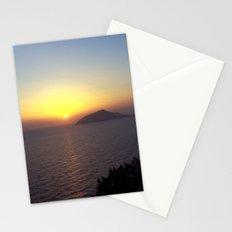Greek Sunset Stationery Cards
