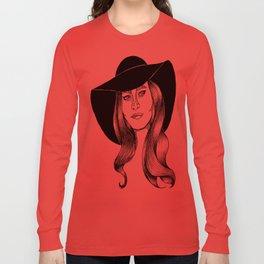 belle fille d'or Long Sleeve T-shirt