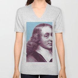 Blaise Pascal Unisex V-Neck