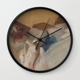 "Edgar Degas ""Dance examination"" Wall Clock"