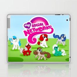 My Social Networks - My Little Pony Parody Laptop & iPad Skin