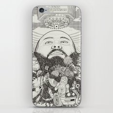 ACTION BRONSON iPhone & iPod Skin