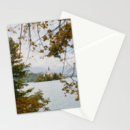 Lake Bled, Slovenia Stationery Cards