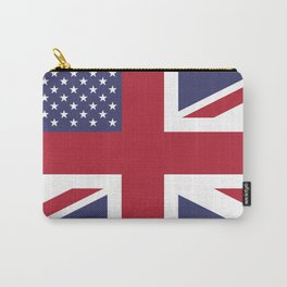 United States and The United Kingdom Flags United Forever Carry-All Pouch
