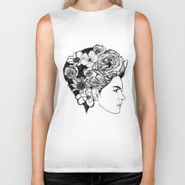 "PHOENIX AND THE FLOWER GIRL ""REFLECTION"" PLAIN PRINT Biker Tank"