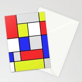 Mondrian #25 Stationery Cards