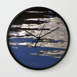 Silver Shimmer Wall Clock