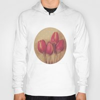 antique Hoodies featuring Antique Tulips by Jessica Torres Photography