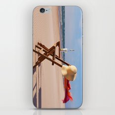 Windy Beach Day iPhone & iPod Skin