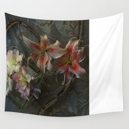 The Begonia Brocade Wall Tapestry
