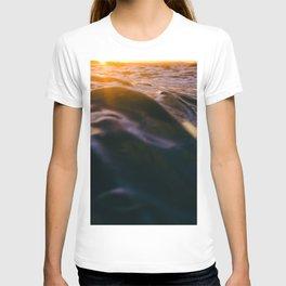 Sunset over water T-shirt