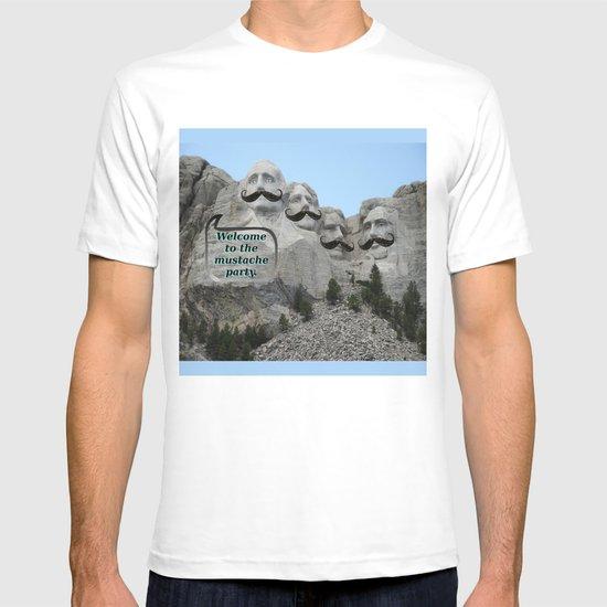 Mount Mustache T-shirt