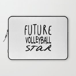Future Volleyball Star Laptop Sleeve