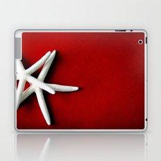 Star Fish on Red Laptop & iPad Skin
