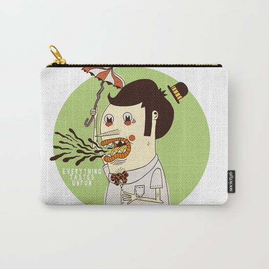 Everything Tastes Unfun Carry-All Pouch